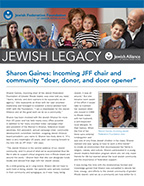 Image of Jewish Alliance of Greater Rhode Island's planned giving newsletter, Jewish Legacy